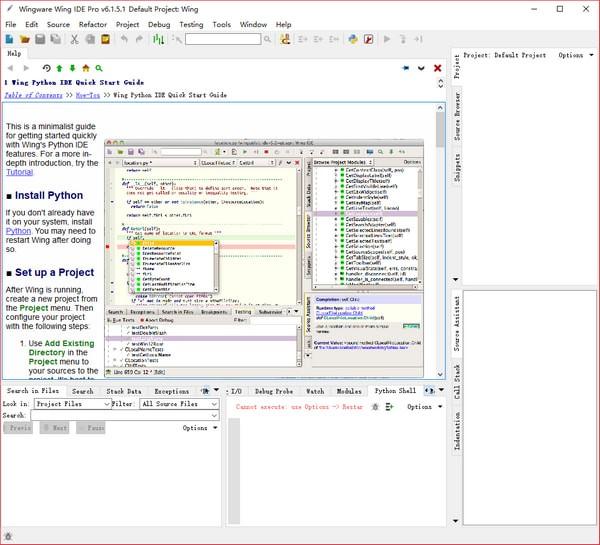 Wingware Wing IDE Pro(编程开发集成环境)下载