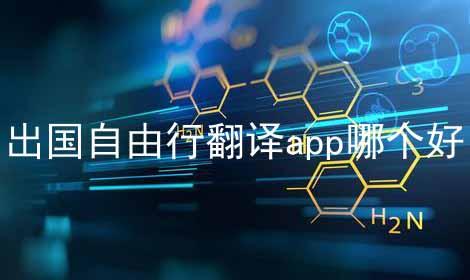 出国自由行翻译app哪个好