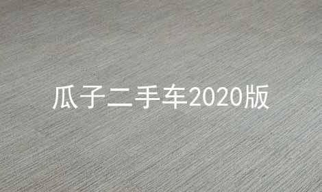 瓜子二手车2021版