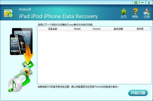 iPubsoft iPad iPod iPhone Data recovery下载