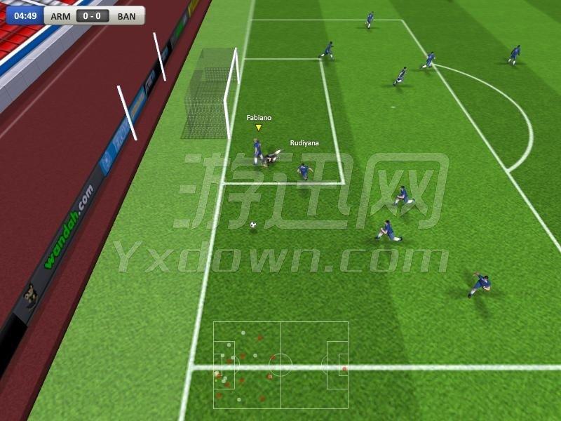 实况足球联赛 英文版下载
