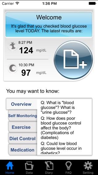 URIGHT Diabetes Manager软件截图0