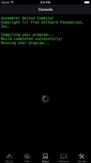 Assembler Programming Language软件截图1
