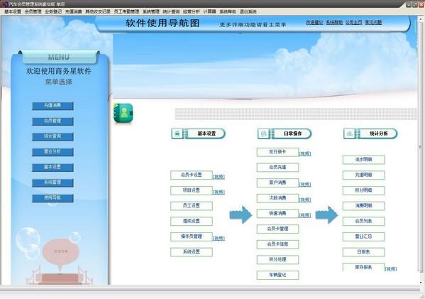 商务星汽车会员管理系统下载