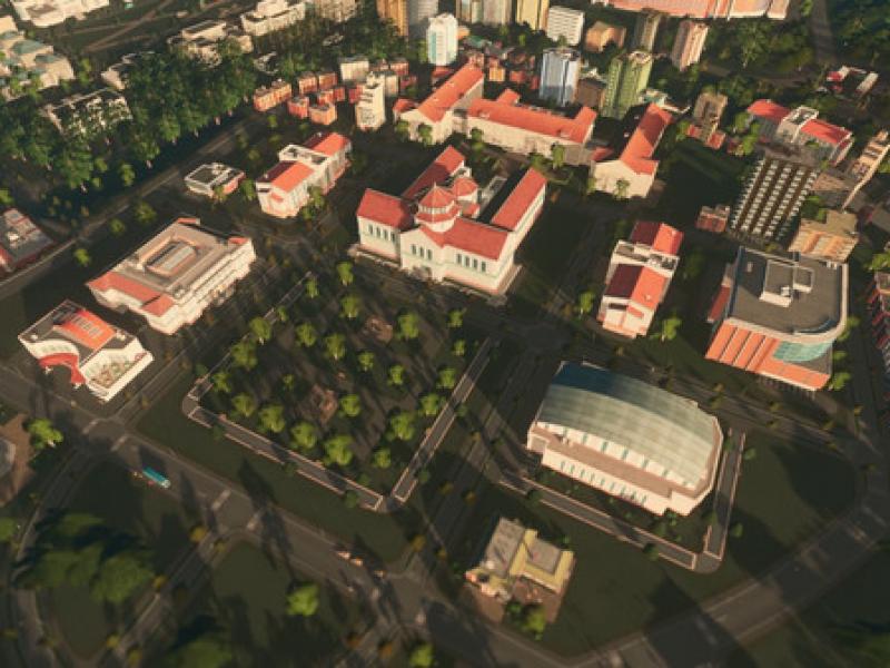 城市:天际线-大学 中文版下载
