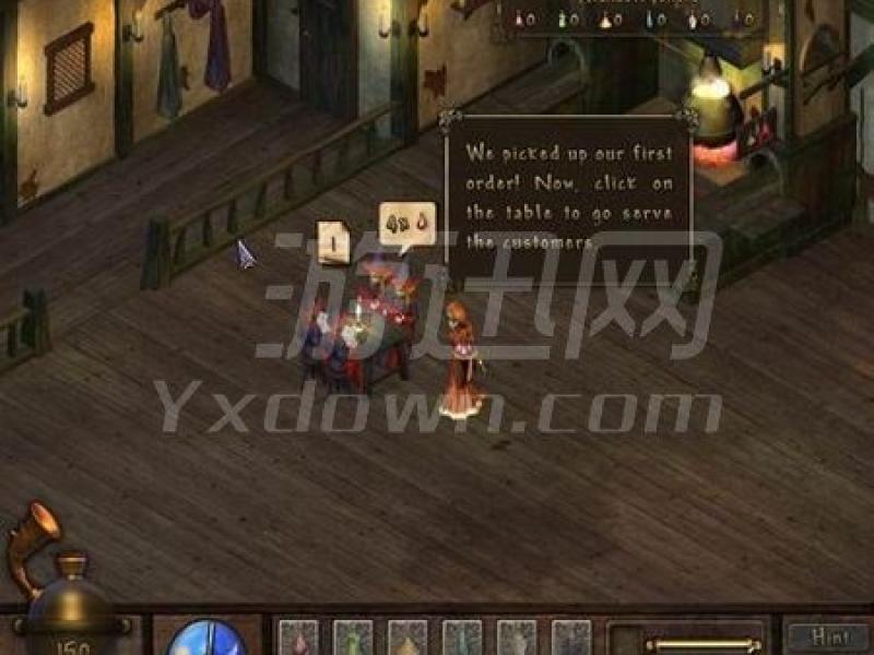 美女餐厅11:魔法客栈 英文版下载