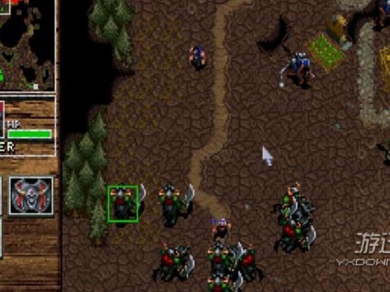 魔兽争霸:人类与兽人 英文版下载