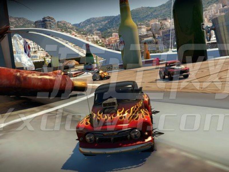 桌面赛车:世界巡回赛-热带冰 英文版下载