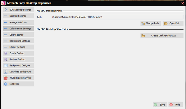 MSTech Easy Desktop Organizer(桌面整理工具)下载