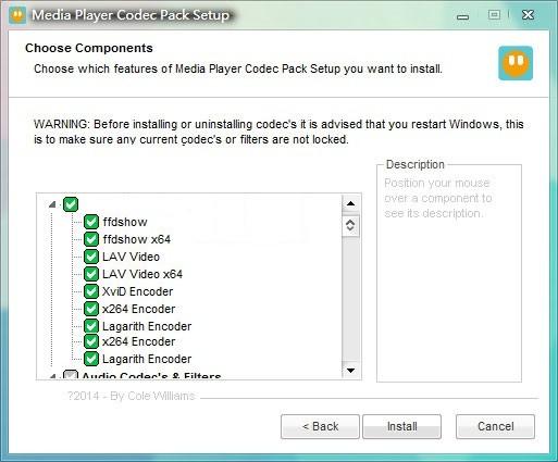 Media Player Codec Pack Plus下载