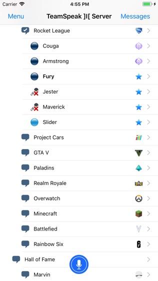 TeamSpeak 3软件截图1