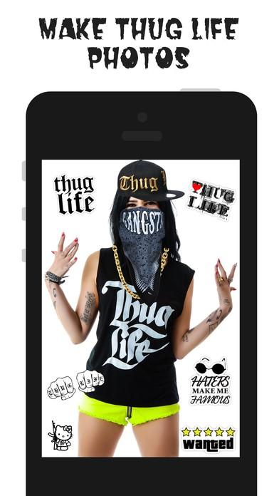 thug life maker