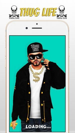 Thug life photo软件截图0