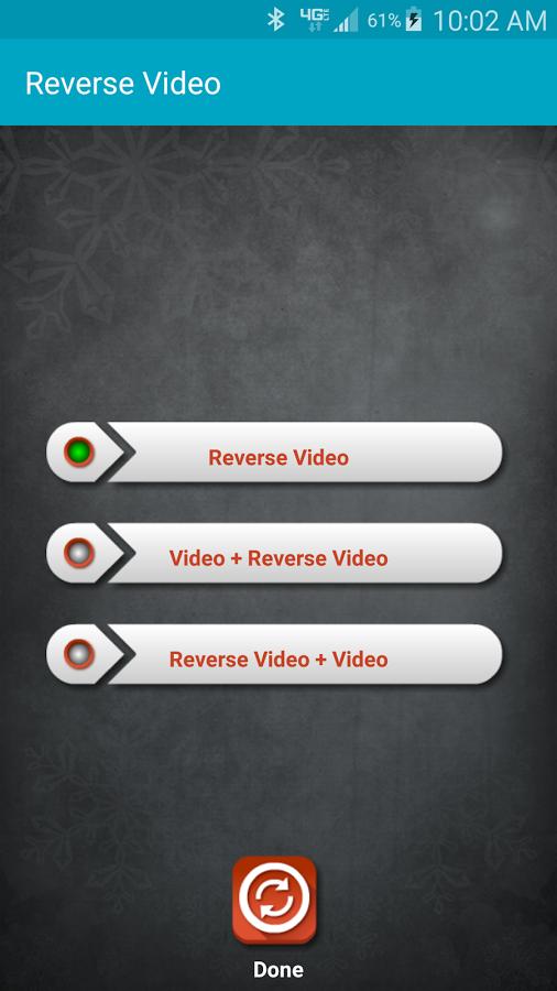 反向视频编辑器软件截图1