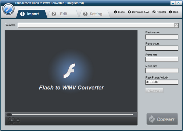 ThunderSoft Flash to WMV Converter下载