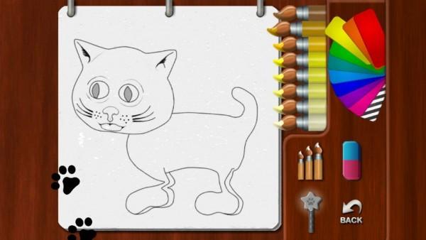 儿童学画猫