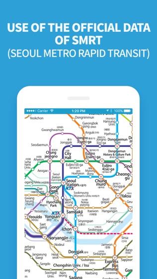 Subway Korea软件截图2