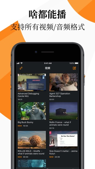 VLC for Mobile软件截图0
