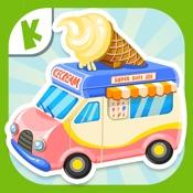 雪糕车-儿童教育拼图游戏早教必备