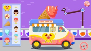 雪糕车-儿童教育拼图游戏早教必备软件截图2