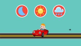 宝宝开车应用 - 含儿童歌曲的宝宝玩具车游戏软件截图2