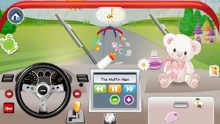 宝宝开车应用 - 含儿童歌曲的宝宝玩具车游戏软件截图1