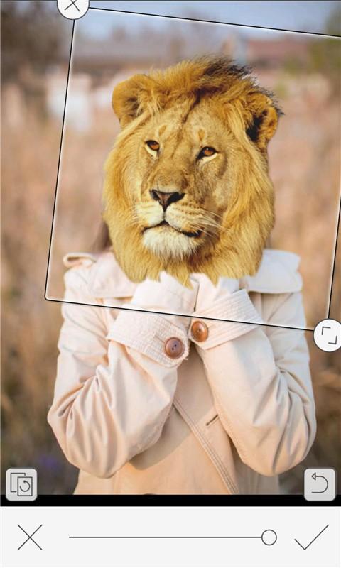 恶搞动物变脸相机软件截图2