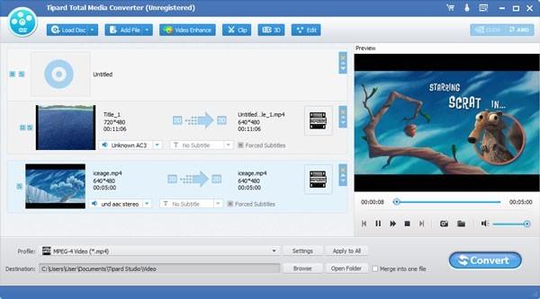 Tipard Total Media Converter(视频格式转换)下载