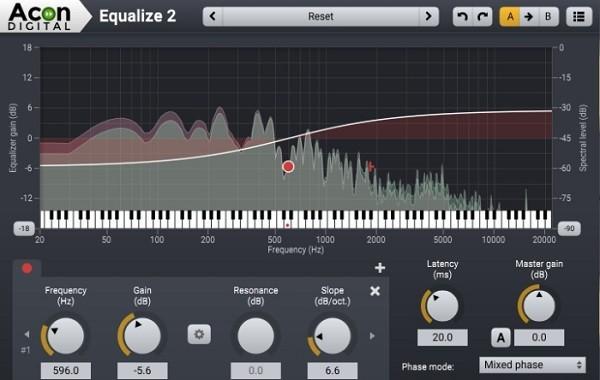 Acon Digital Equalize(音频均衡器)下载