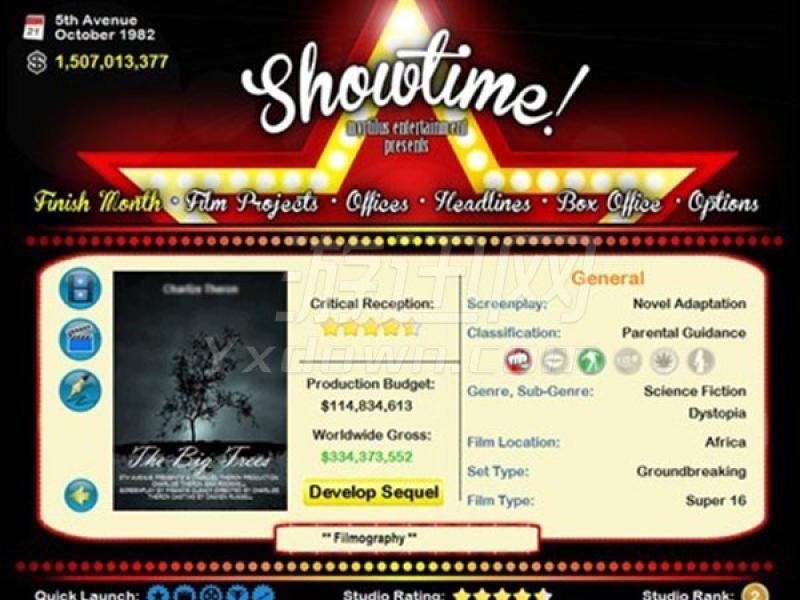Showtime! 英文版下载