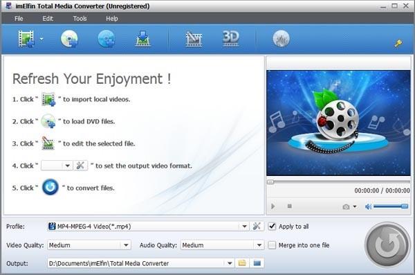 imElfin Total Media Converter(全能多媒体转换器)下载
