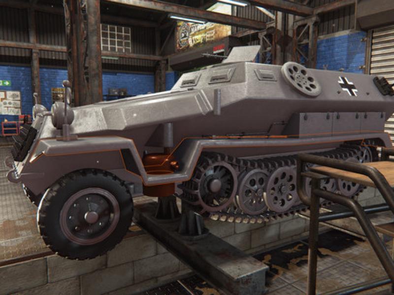 坦克维修模拟 破解版下载