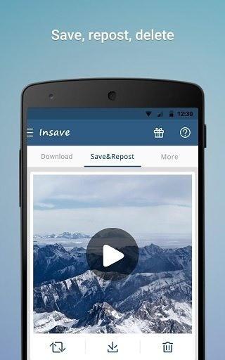 Insave图片保存转发器app