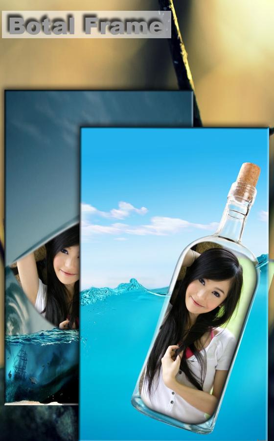 照片上瓶子