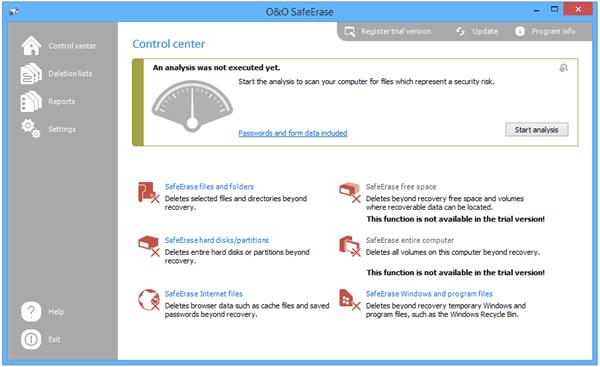 O&O SafeErase Pro(数据彻底删除工具)下载