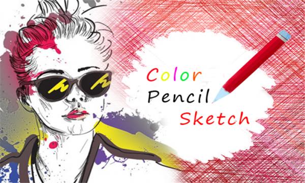 铅笔素描效果