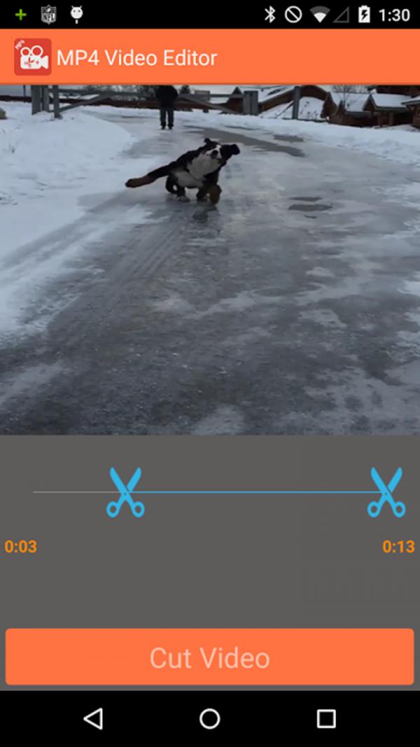 MP4视频剪切软件截图3