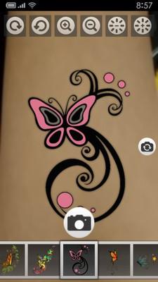 纹身艺术照相机软件截图0
