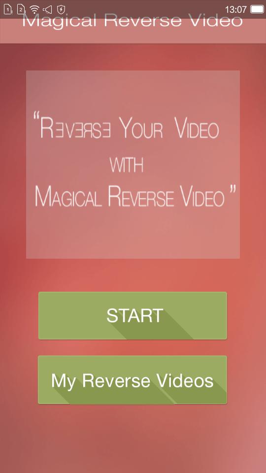 反向视频制作工具