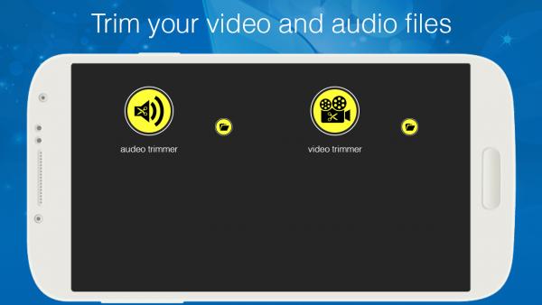 视频音频剪辑器软件截图0