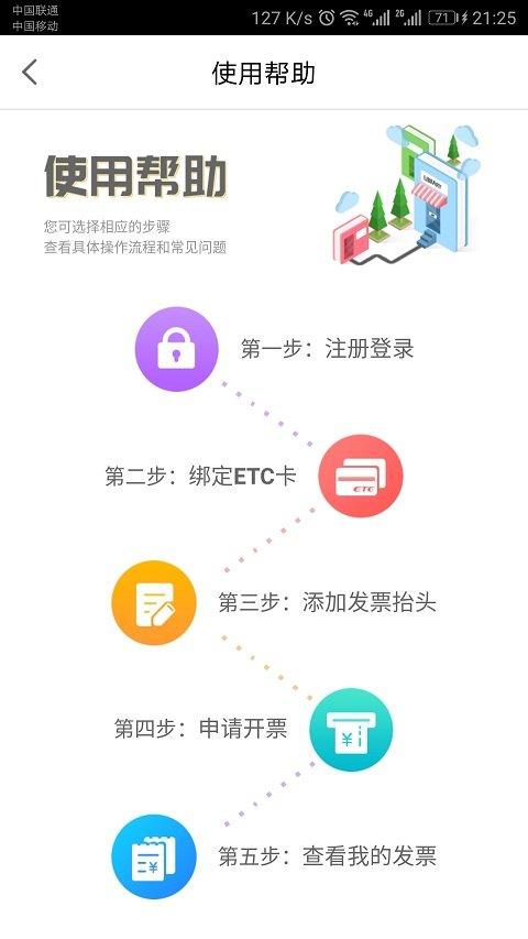 ETC票根软件截图0