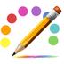 彩色日记本
