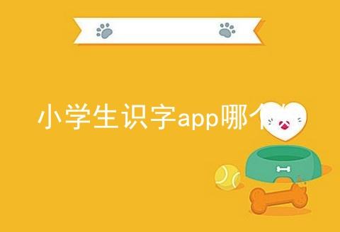 小学生识字app哪个好