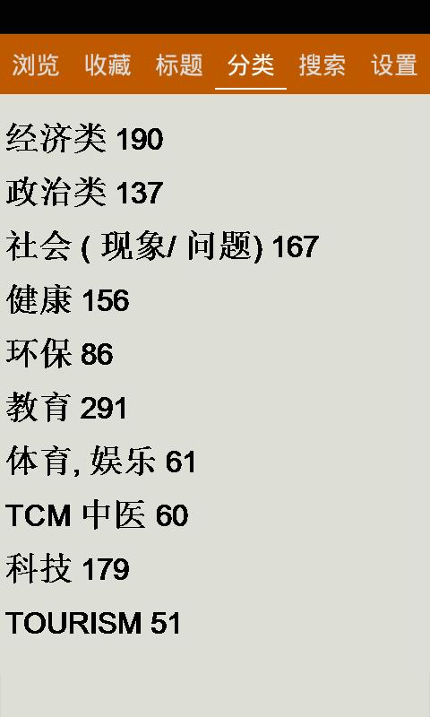 上海中级口译单词软件截图2