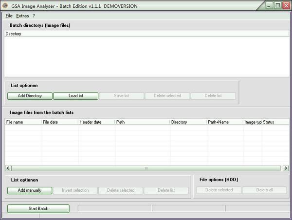 GSA Image Analyser Batch Edition(图像分析软件)下载