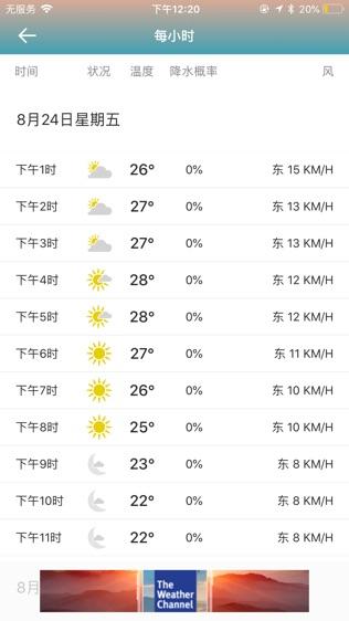 The Weather Channel:天气预报软件截图2