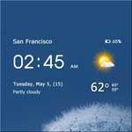 透明时钟天气(Transpa