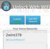 Unlock With WiFi