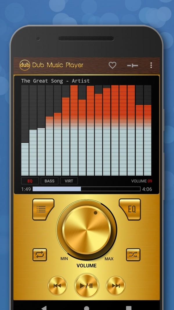 Dub音乐播放器软件截图0