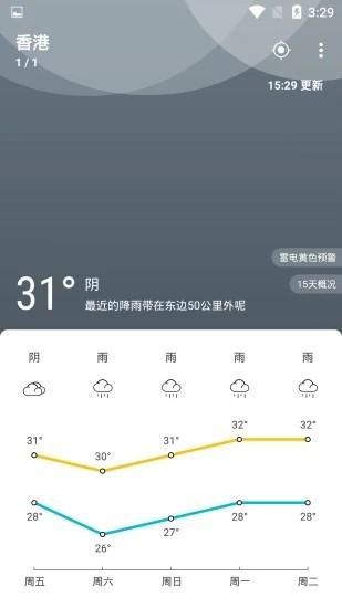 天气佳天气软件截图0